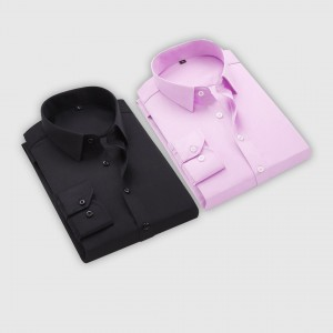 Combo Of 2 Men's Casual Shirts (Black, Pink)