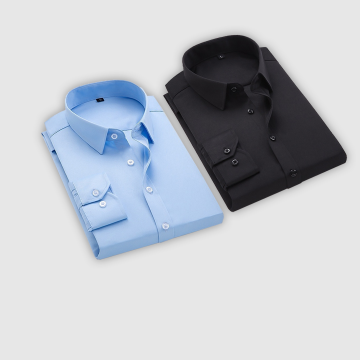 Combo Of 2 Men's Casual Shirts (Sky Blue, Black)