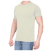 Combo Of 3 Men's Casual T-Shirt (Cream, Red, Grey)