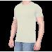 Combo Of 3 Men's Casual T-Shirt (Gray, Cream, Black)